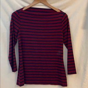 ⚜️⚜️ 3/4 length sleeve boat neck shirt